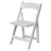 Weddingchair / ceremonie klapstoel wit