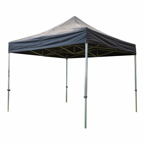 Easy-Up tent zwart 3x3 meter
