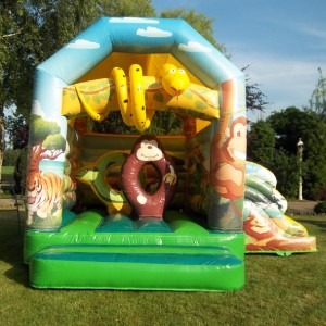 Springkussen Jungle Multifun Standaard