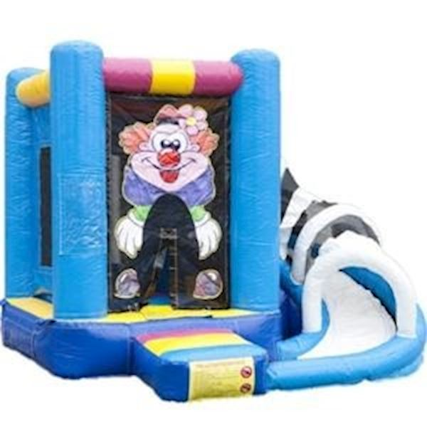 Springkussen Mini multiplay Clown