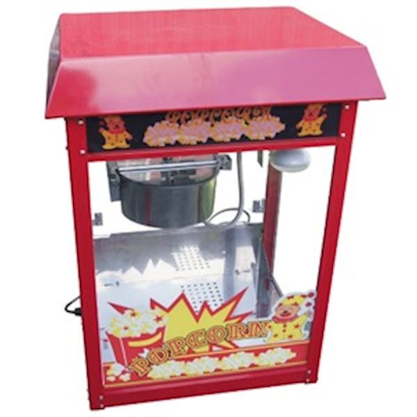 Popcornmachine incl. 150 porties